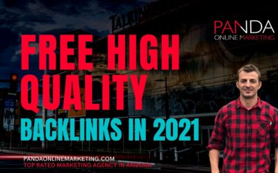 Free High Quality Backlinks in 2021